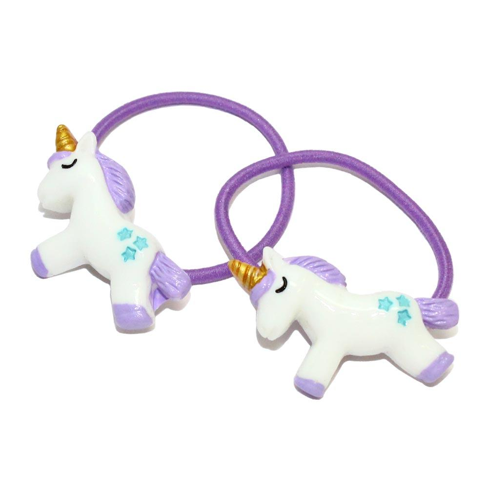 Unicorn Ponytail Holders Set - Osewaya