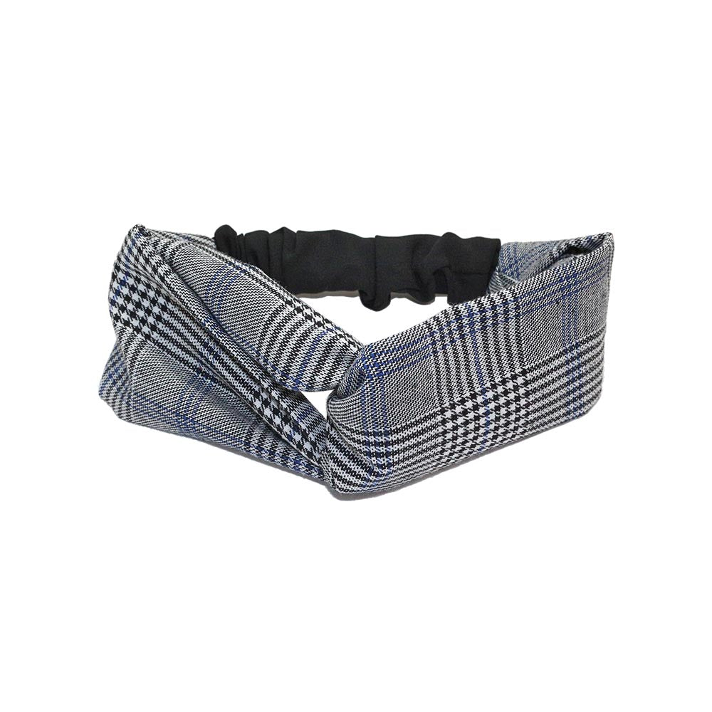Check Pattern Kids Headband - Osewaya