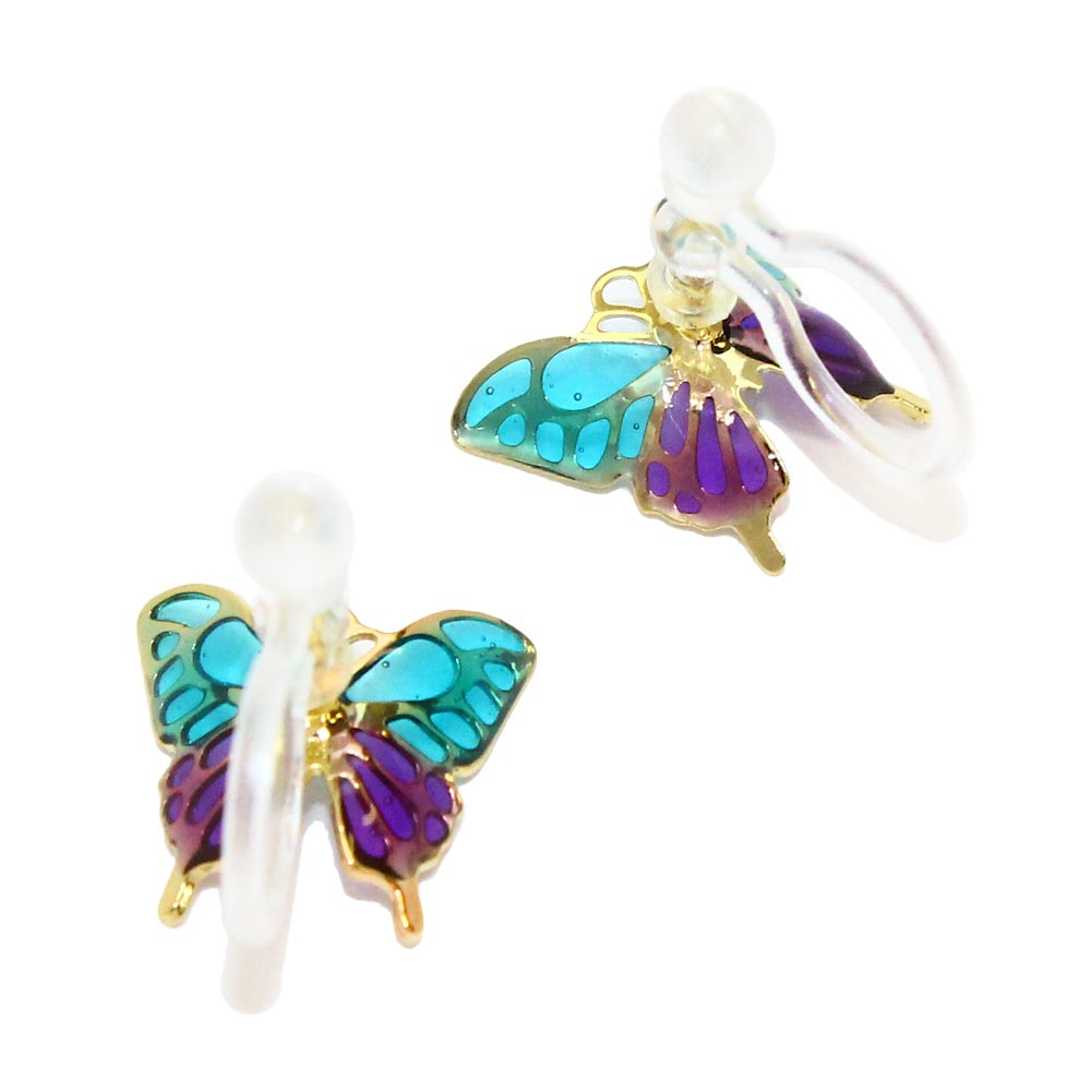 Butterfly Invisible Clip On Earrings - Osewaya