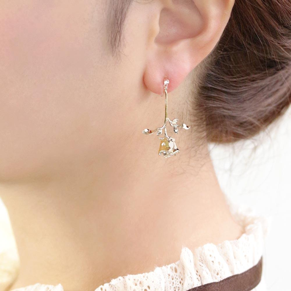 Rose Invisible Clip On Earrings - Osewaya