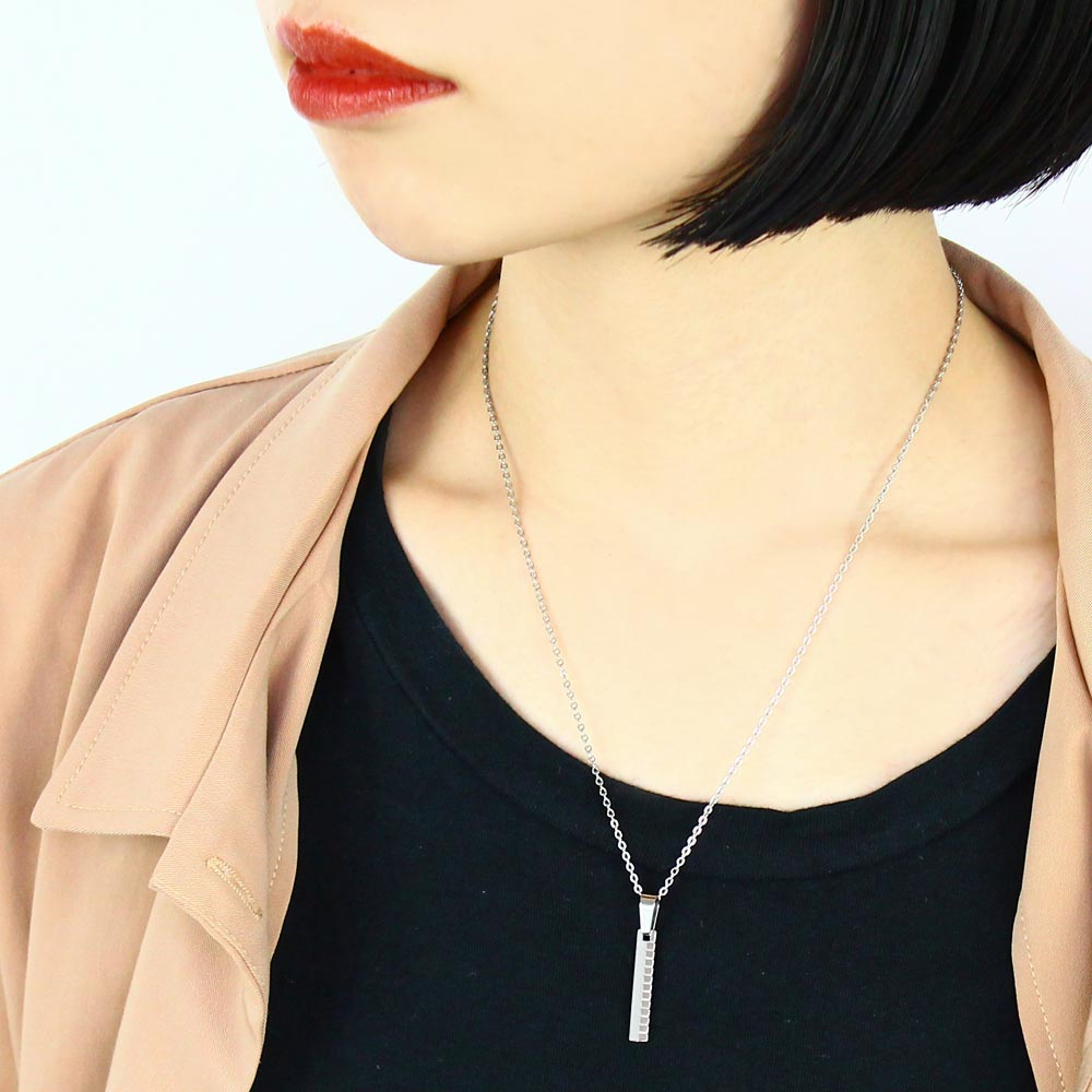 Stainless Zipper Necklace - Osewaya