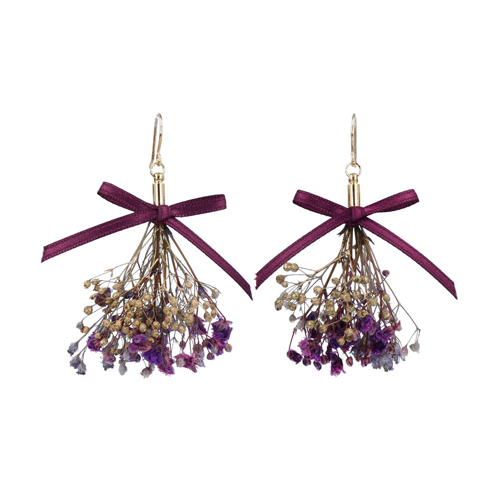 Bouquet Drop Hook Earrings - Osewaya