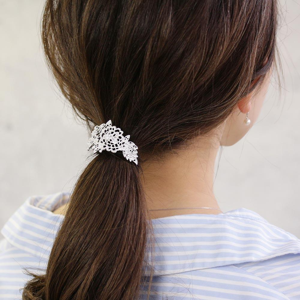 Filigree Flower Hair Hook