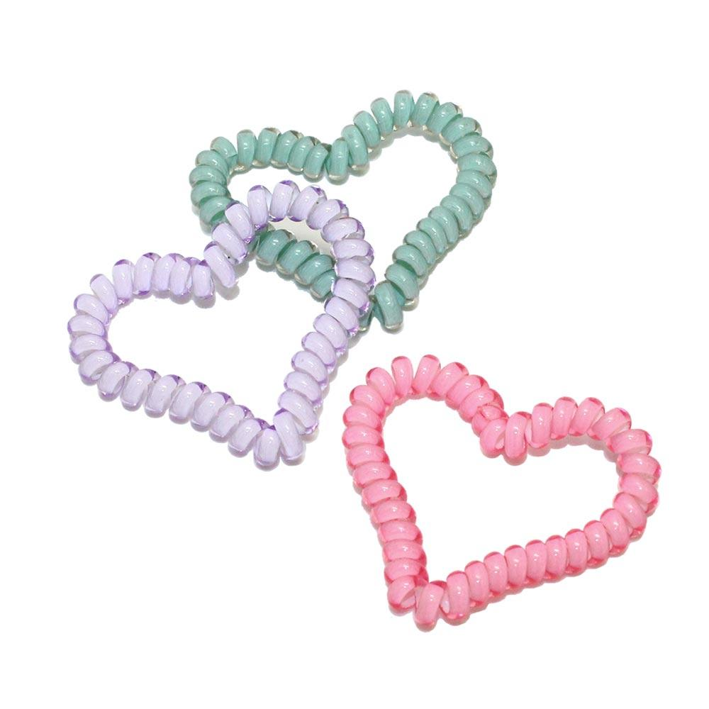 Heart Spring Rubber Band - Osewaya
