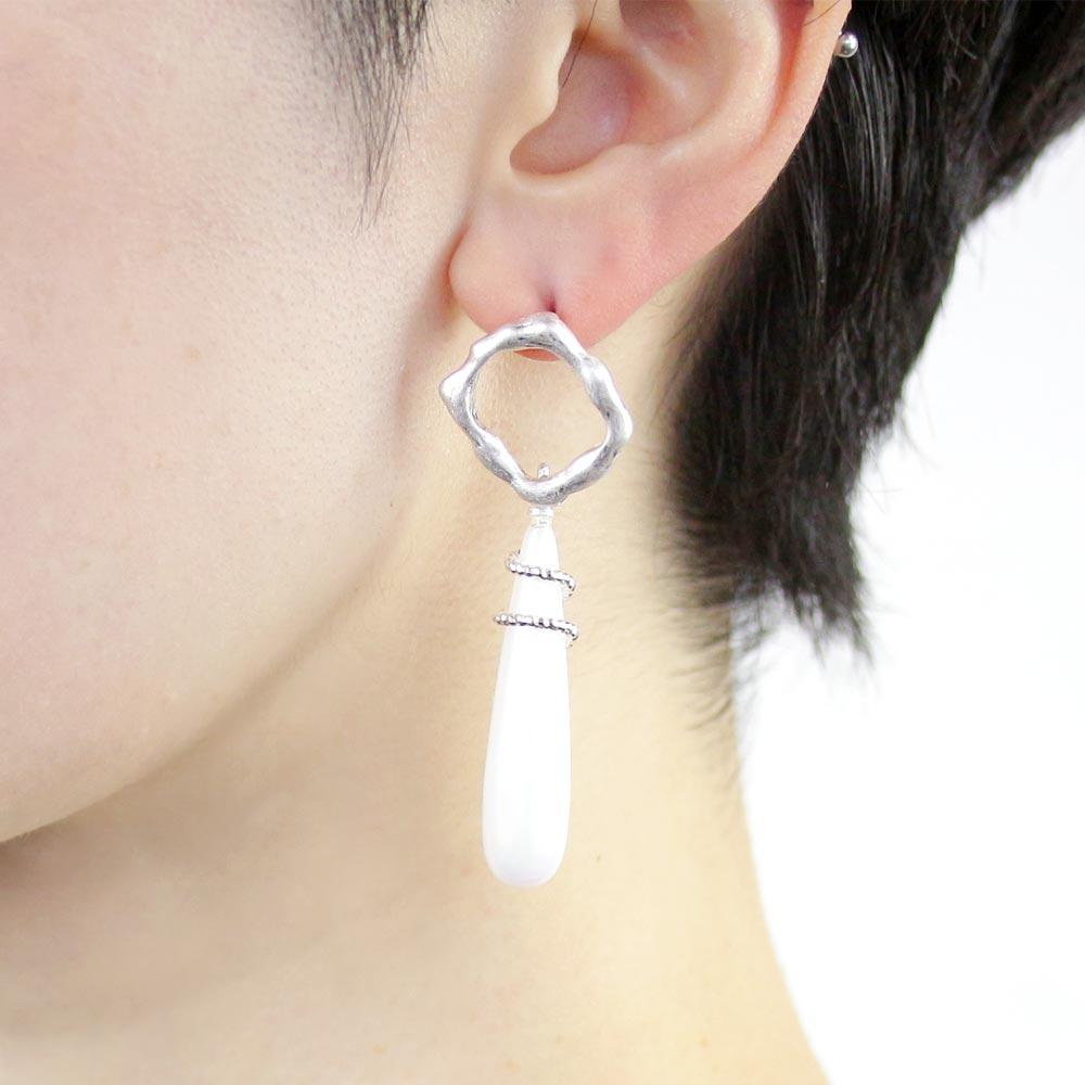 Aurora Pearl Icicle Drop Earrings