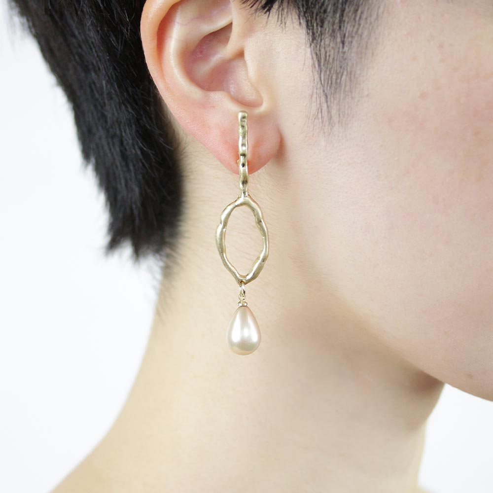 Aurora Pearl Icicle Drop Earrings - Osewaya