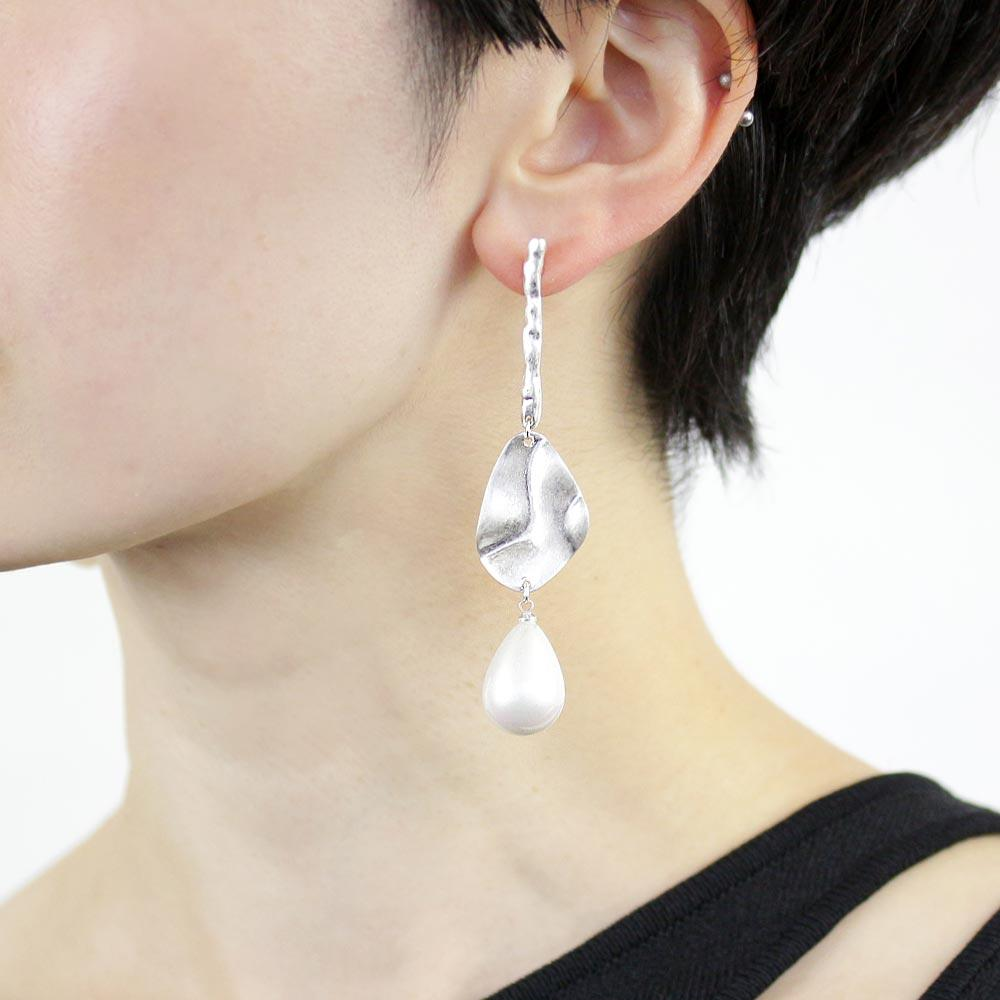 Aurora Pearl Stream Earrings