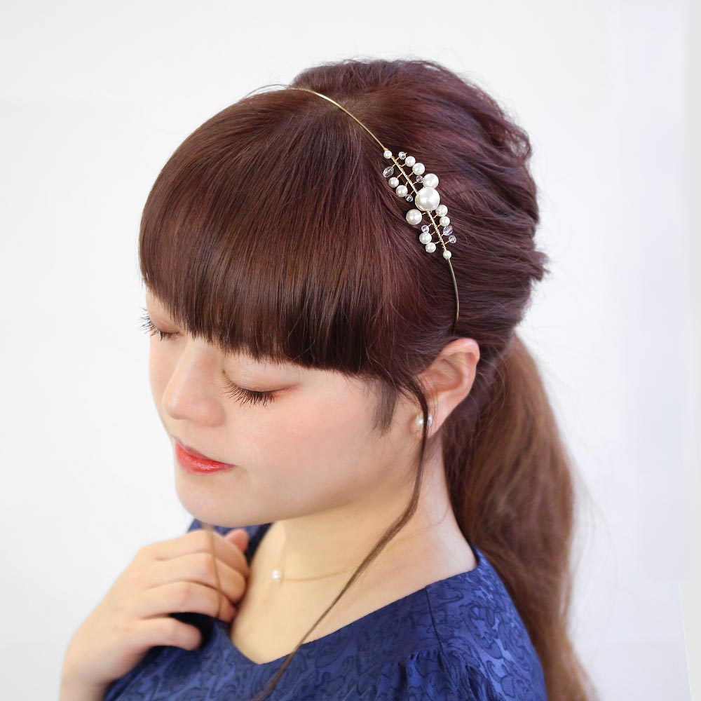Bunch of Pearls Decorative Headband