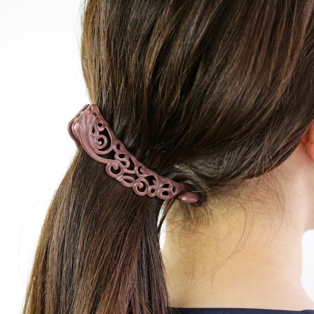 Arabesque Banana Hair Clip