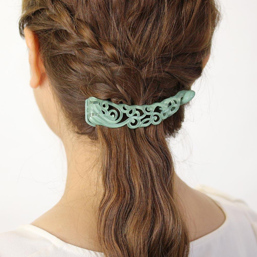 Banana Hair Clip Arabesque