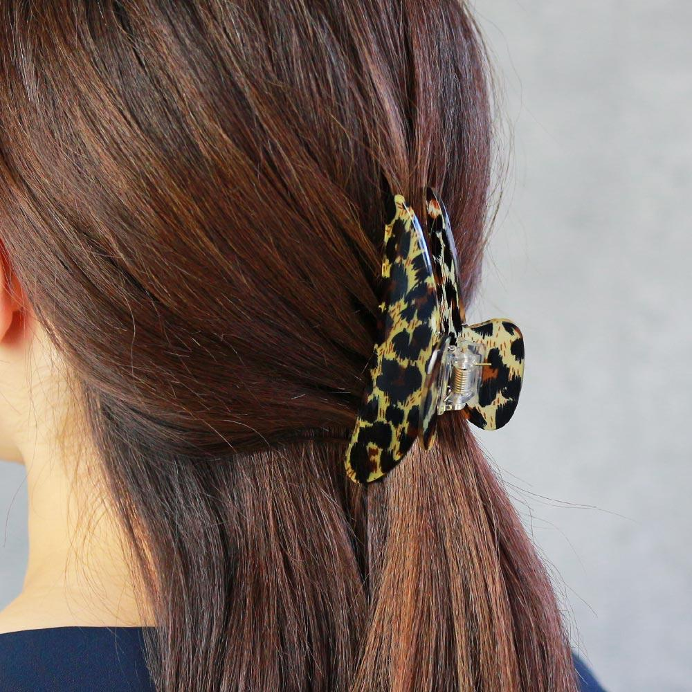 Animal Pattern Acrylic Hair Clip