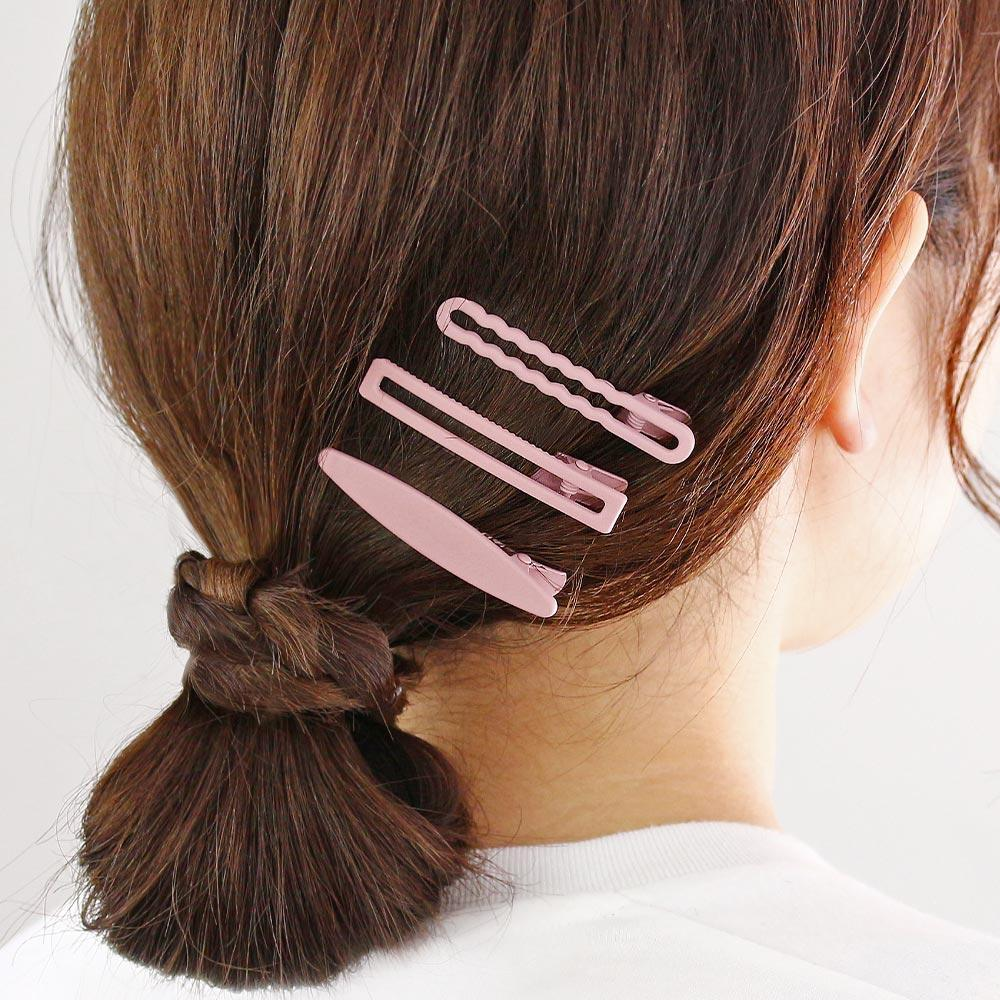 Rubber Coated Hairpin Set