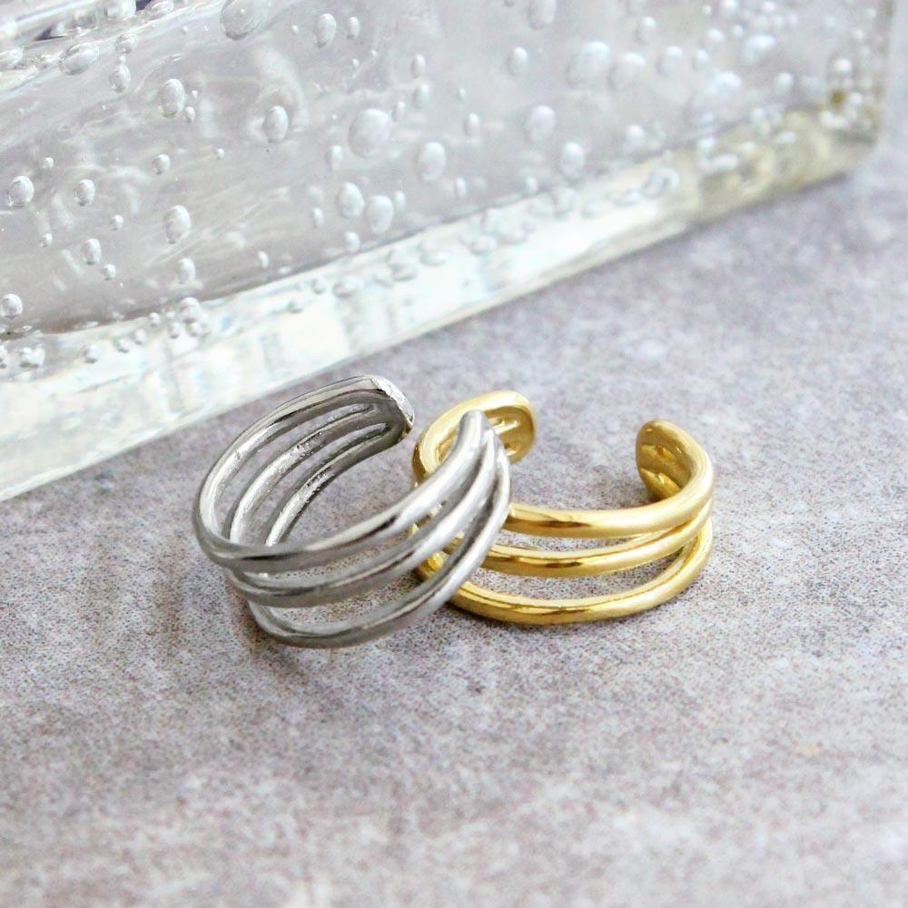 Triple Band Ear Cuff