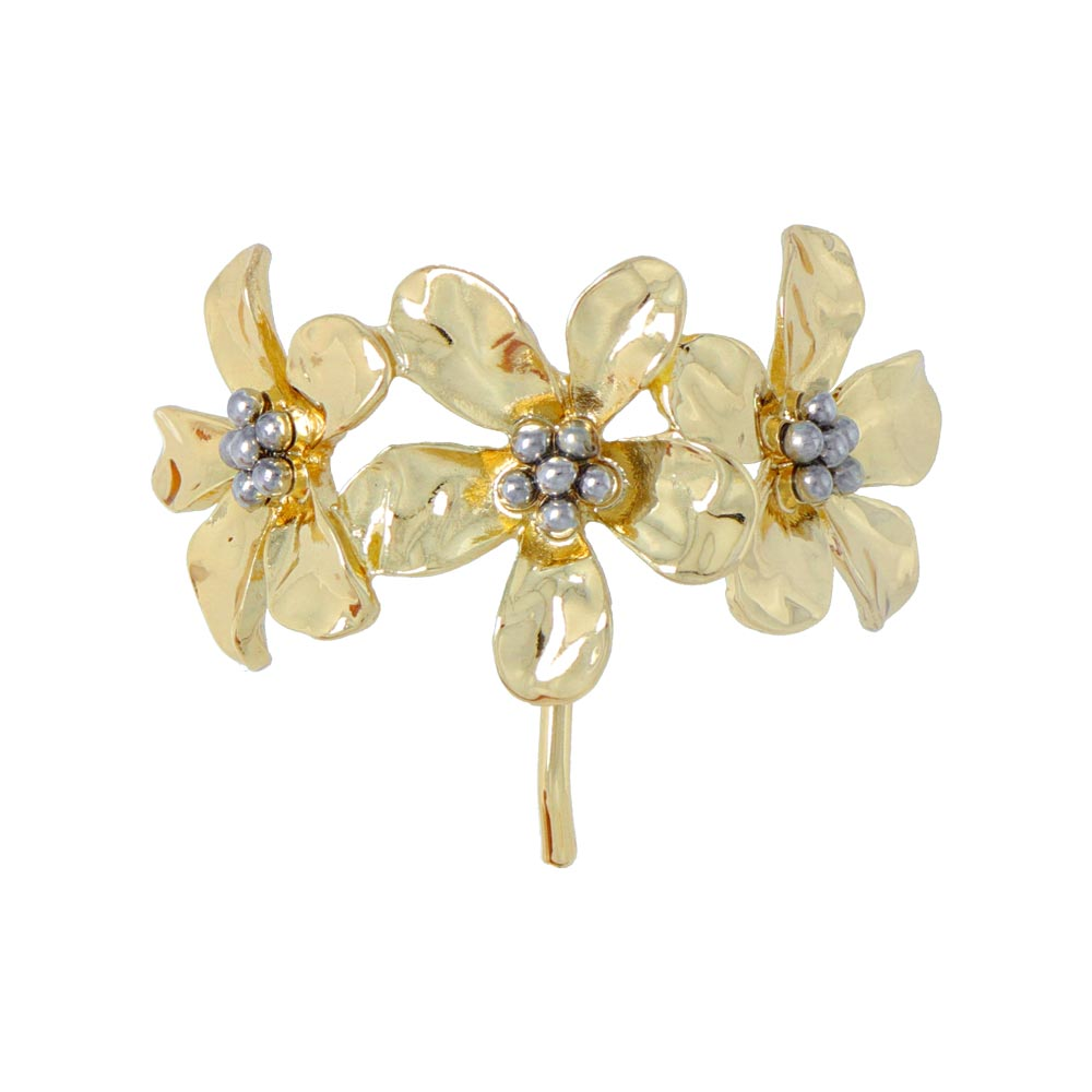 Triple Flower Hair Hook - osewaya