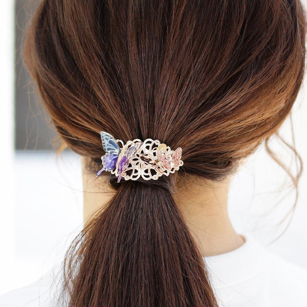 Openwork Butterfly Hair Hook