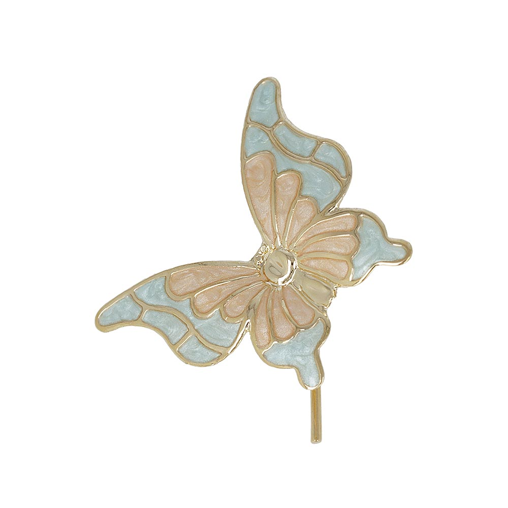 Pearl Finish Butterfly hair Hook