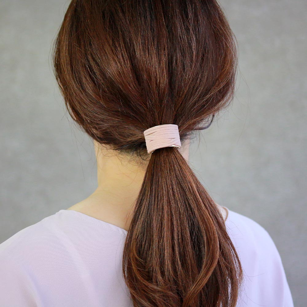 Faux Suede Arch Hair Hook