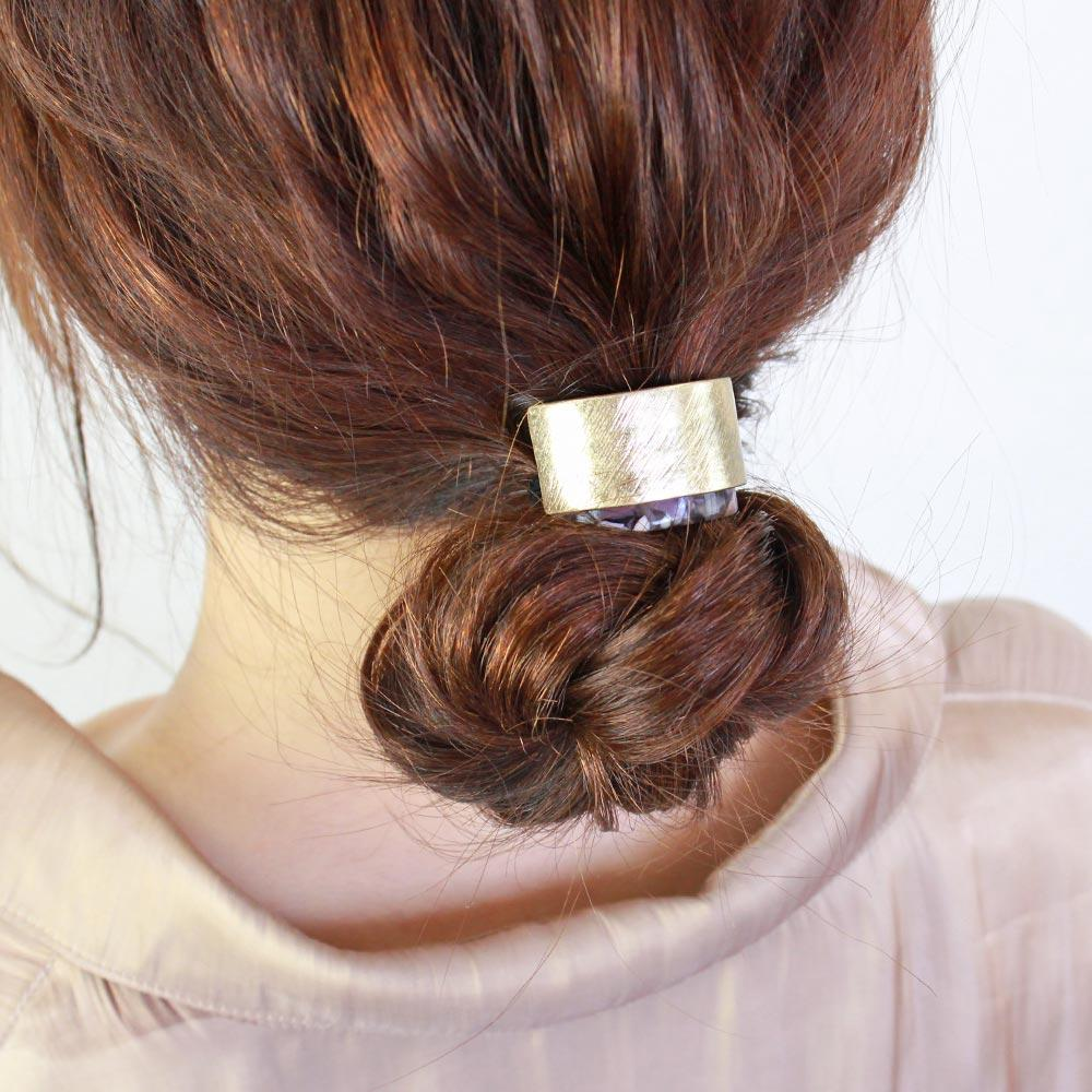 Dual Hair Tie Arch and Marble
