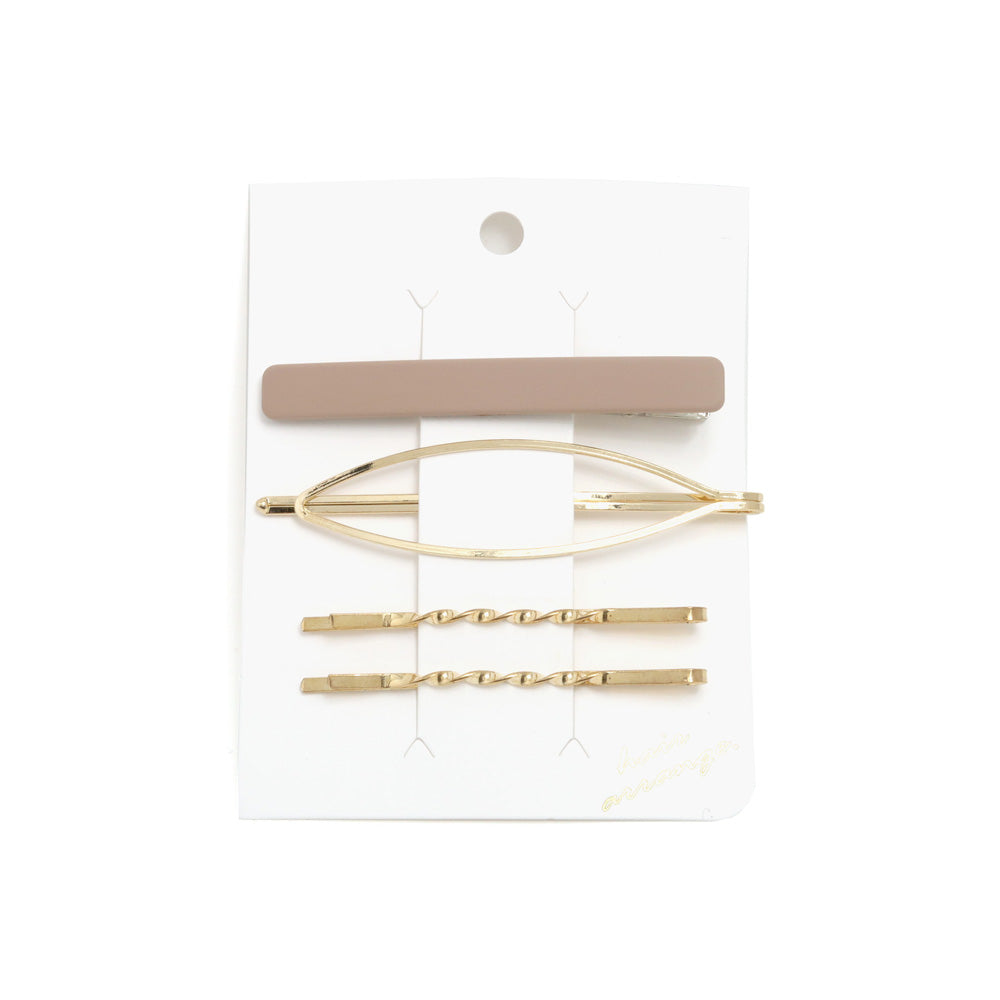 Hairpin and Hair Clip Set