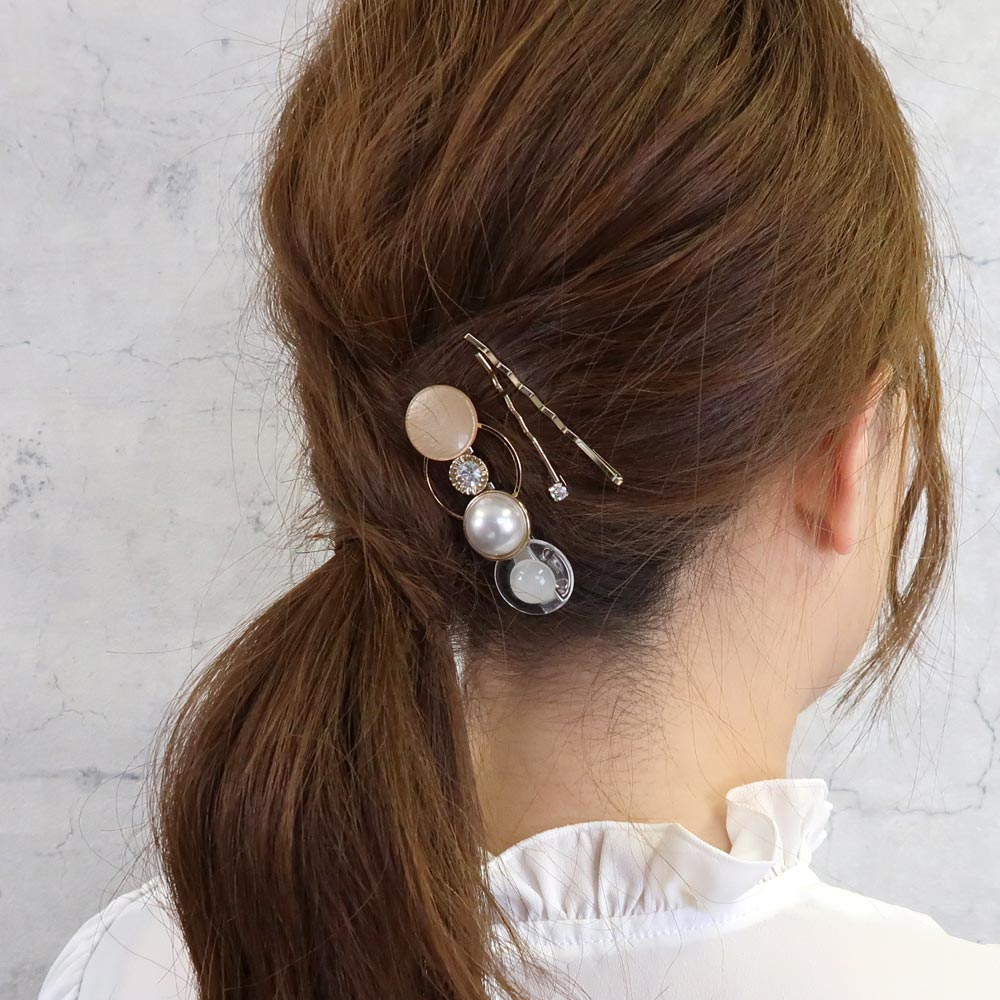 Circle  Hairpin Set