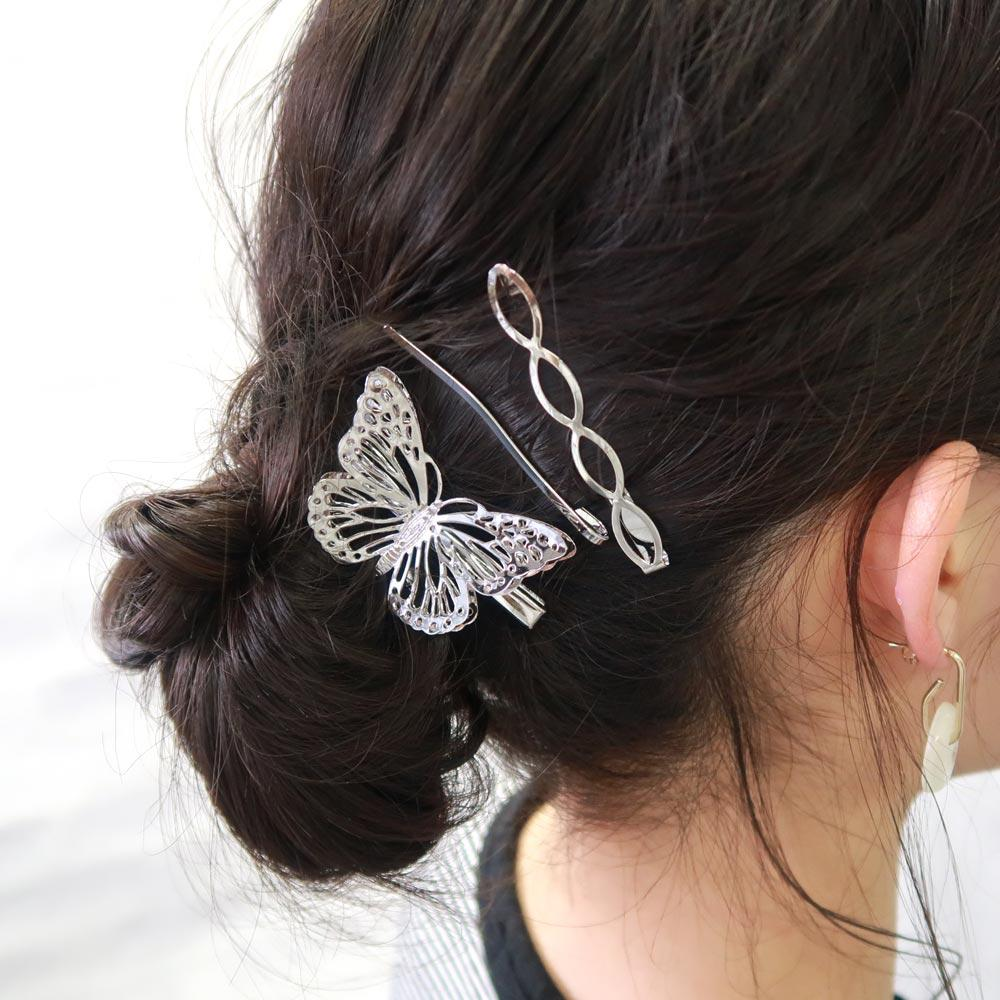 Butterfly Hairpin Combo