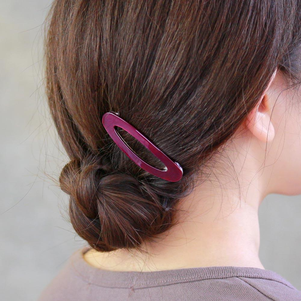 Deep Color Snap Hair Clip