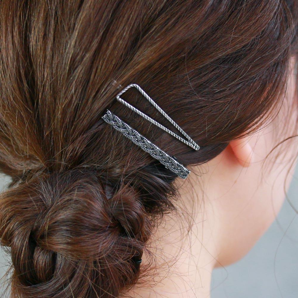 Braid Hair Clip Set