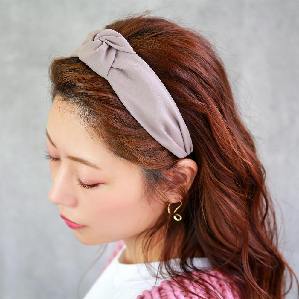 Deep Color Knot Headband