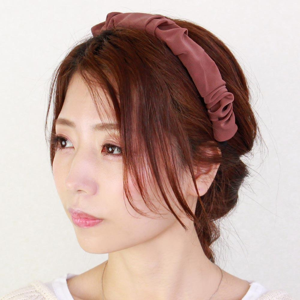 Dark Tone Ruffled Headband