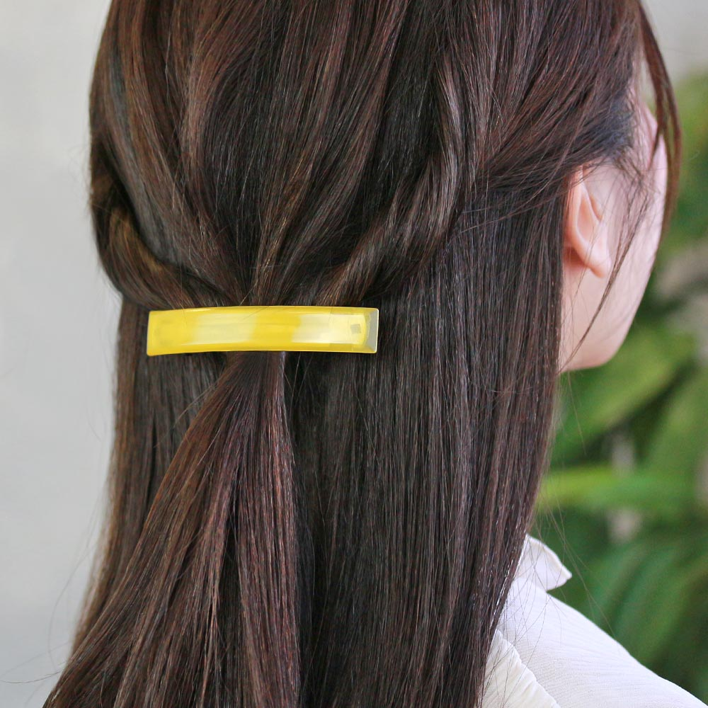 Jelly Color Hair Barrette
