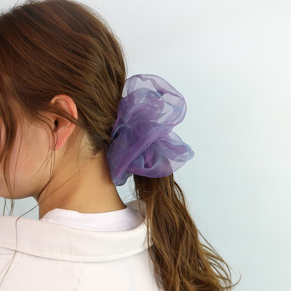 Aurora Organdy Hair Scrunchie
