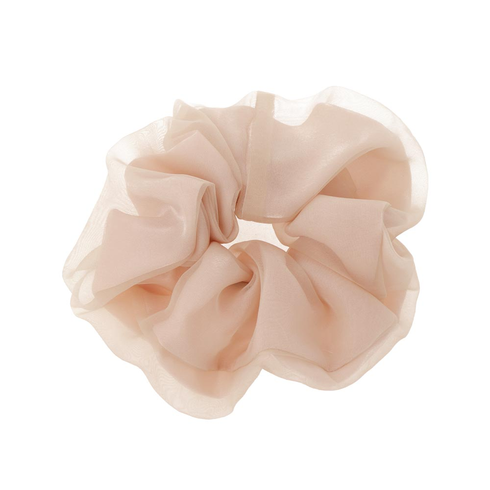 Sheer Organdy Hair Scrunchie