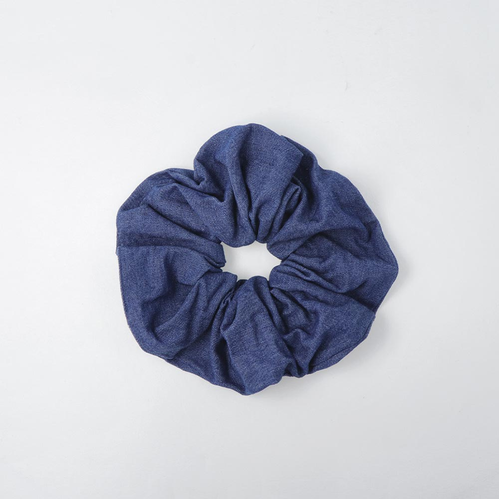 Denim Hair Scrunchie - osewaya