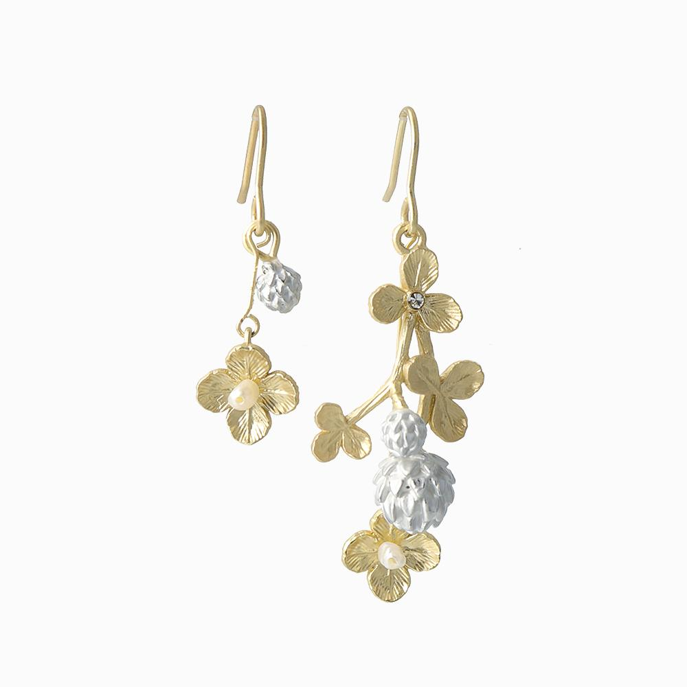 Clover Drop Earrings - osewaya