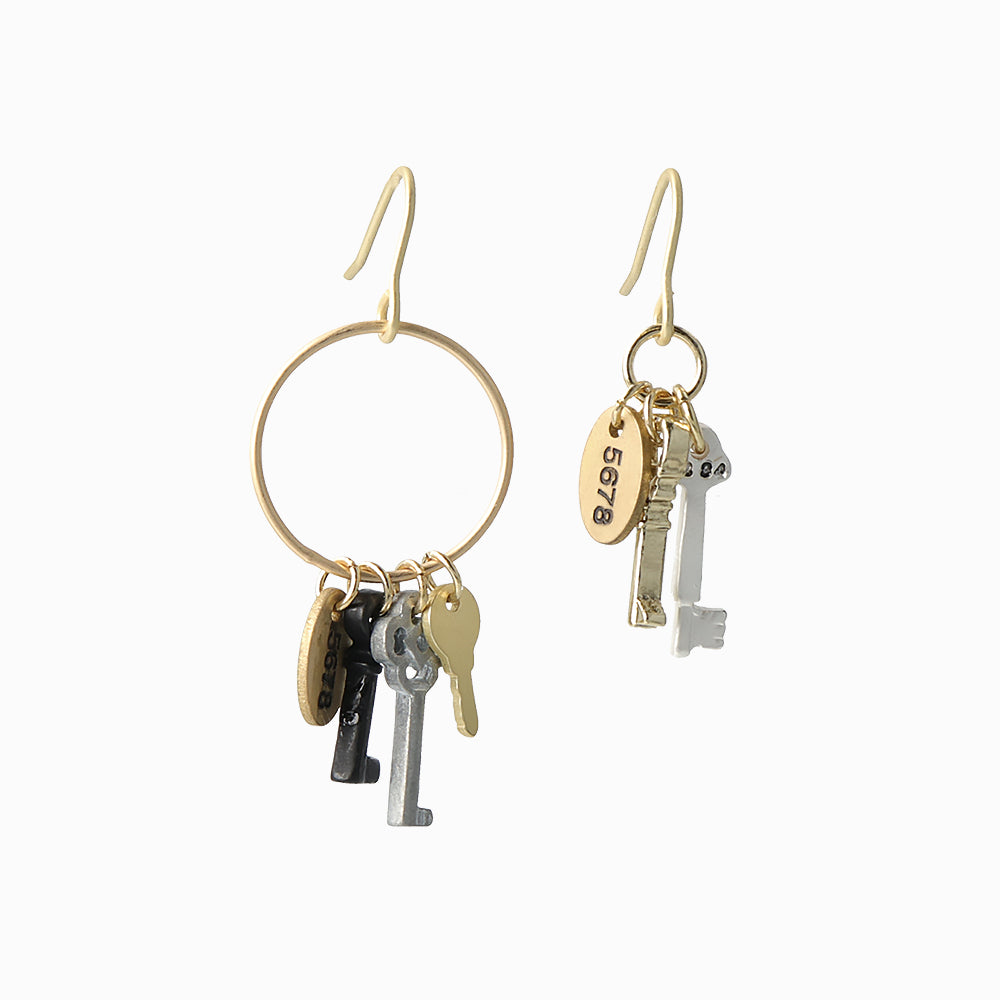 Key Bundle Earrings