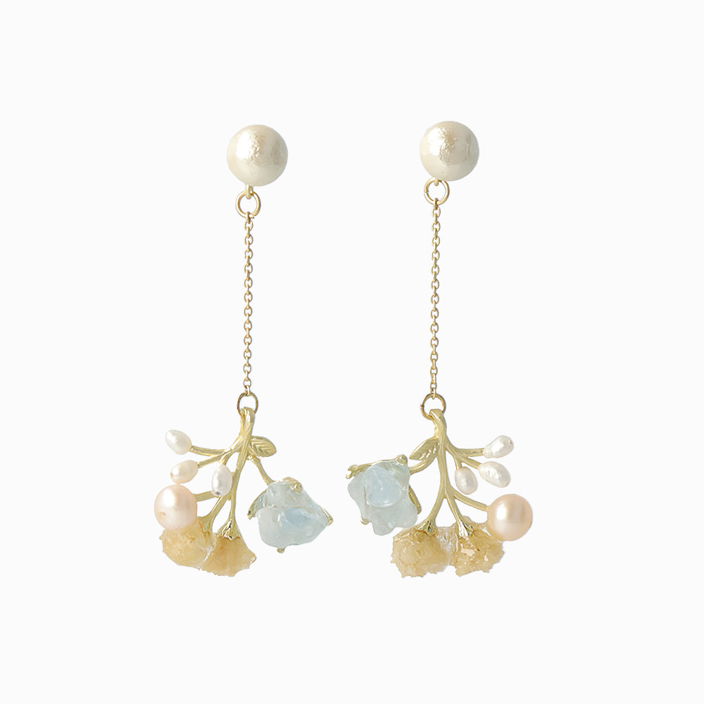 Gypsophila Earrings