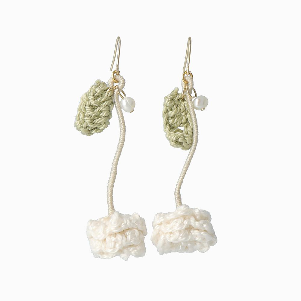 White Clover Earrings - osewaya