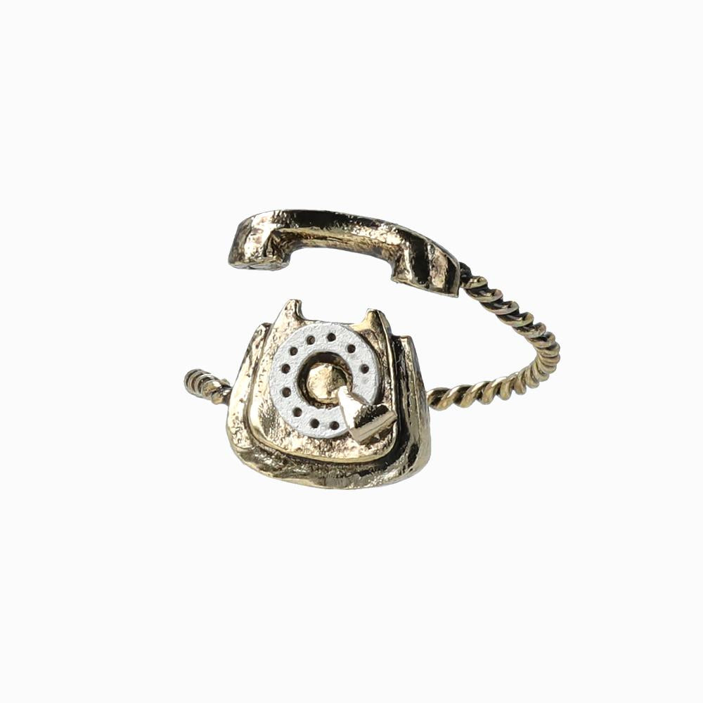 Antique Rotary Phone Ring - osewaya
