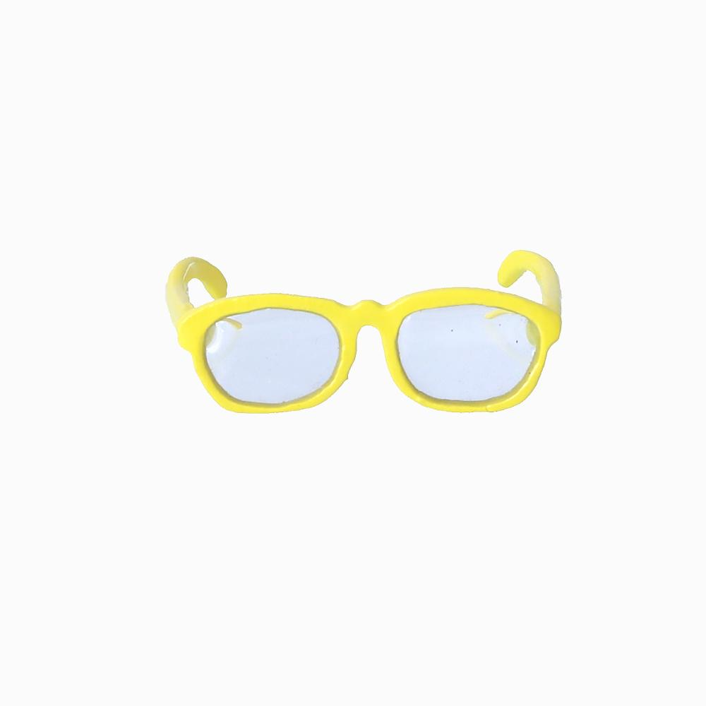 Funky Yellow Glasses Ring - Osewaya