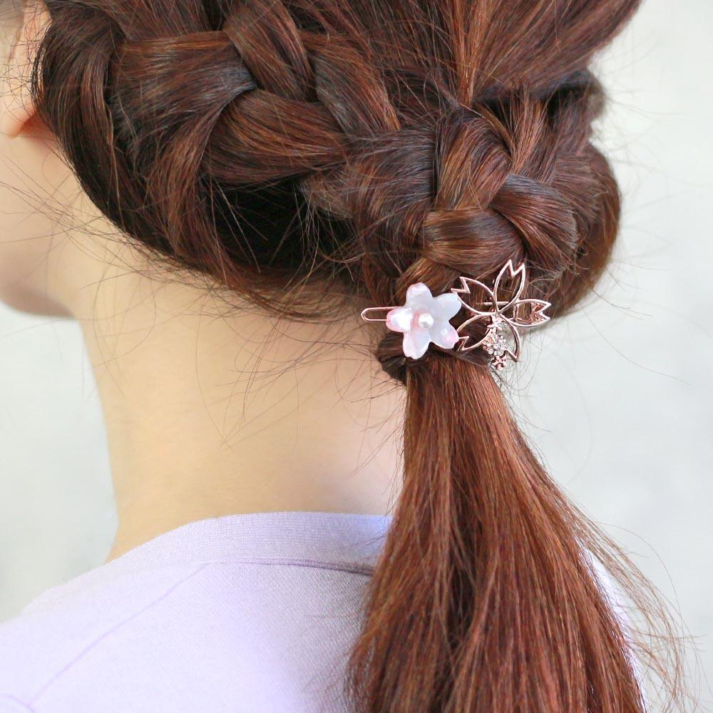 Cherry Blossom Frame Hairpin
