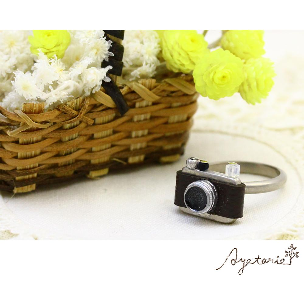 Retro Camera Ring - Osewaya