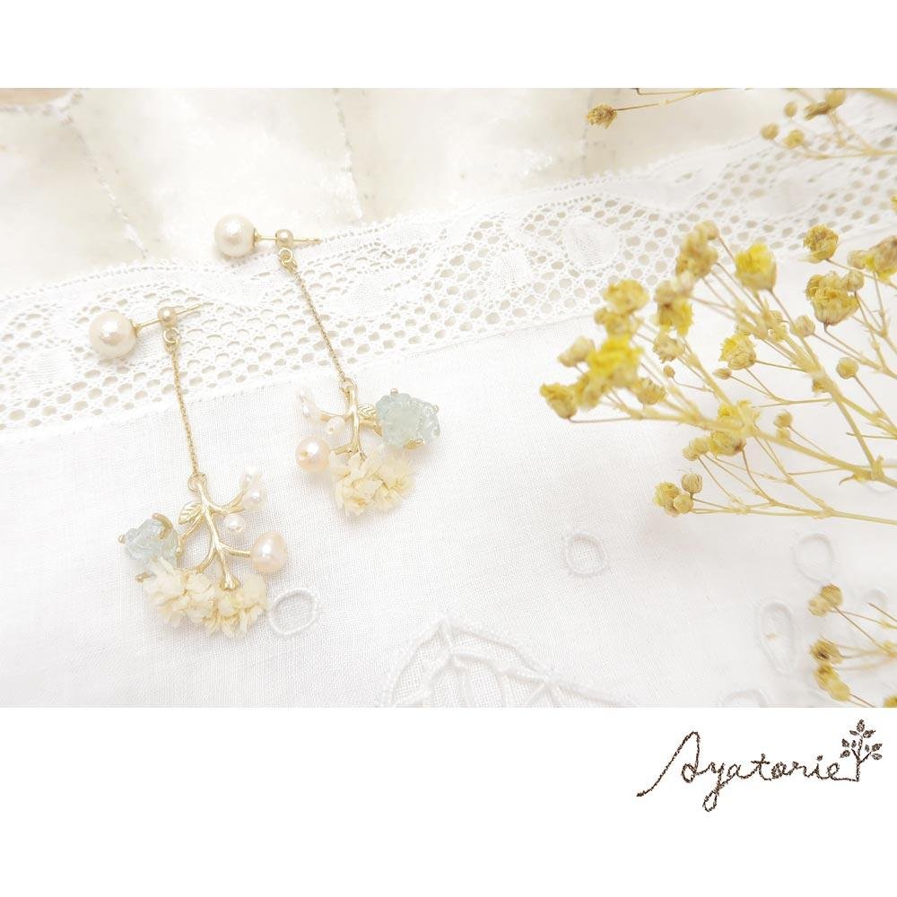 Gypsophila Earrings - Osewaya