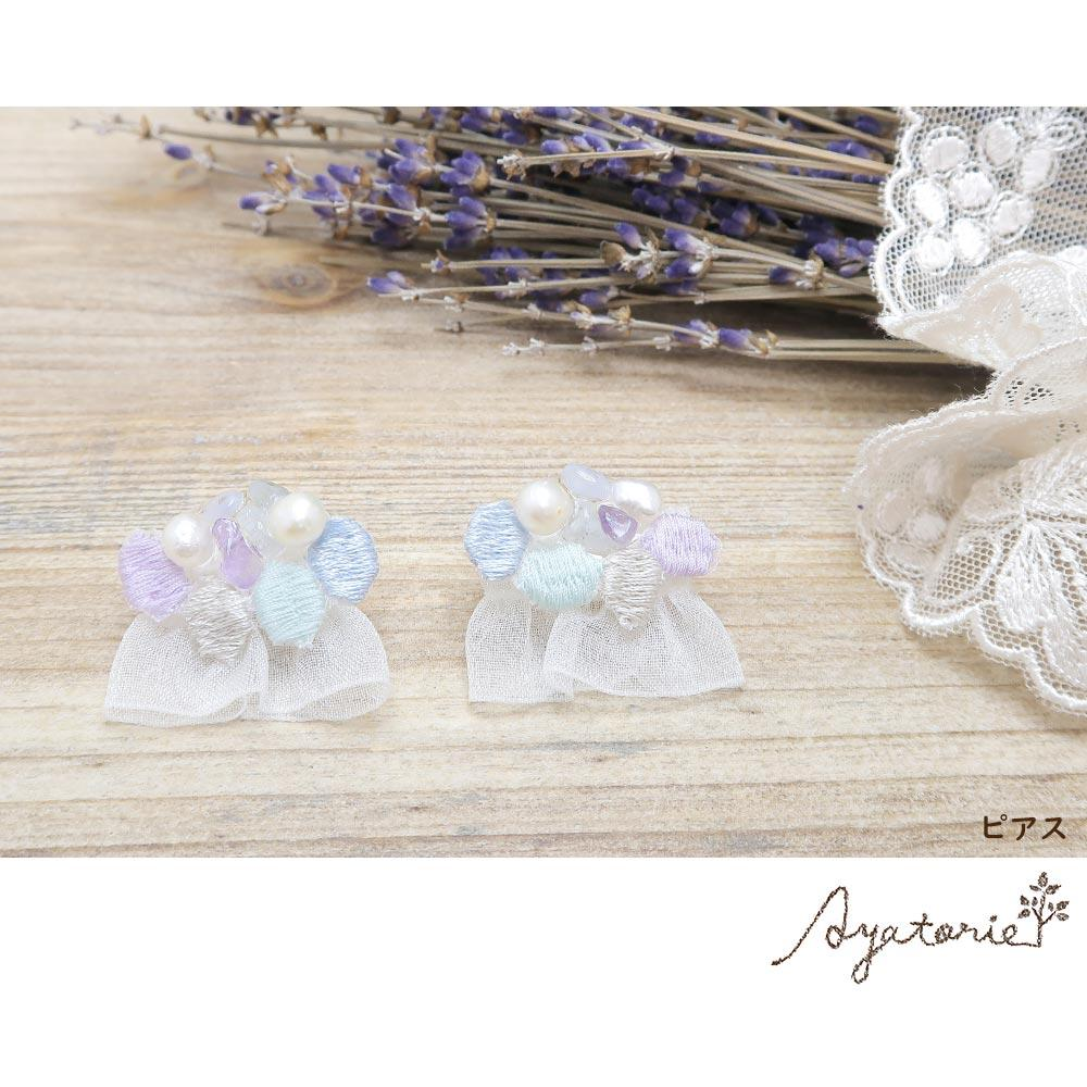 Hydrangea Lace Earrings - Osewaya