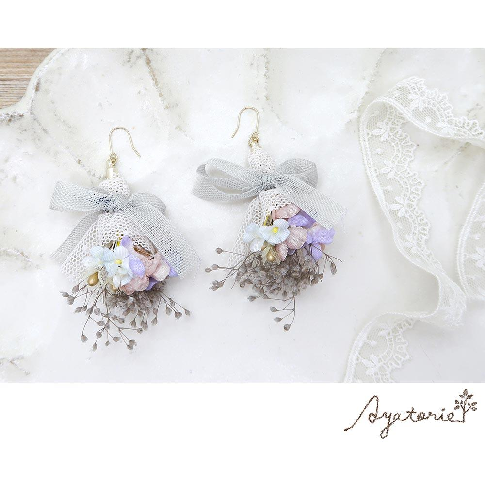 Heartfelt Flower Bouqet Earrings