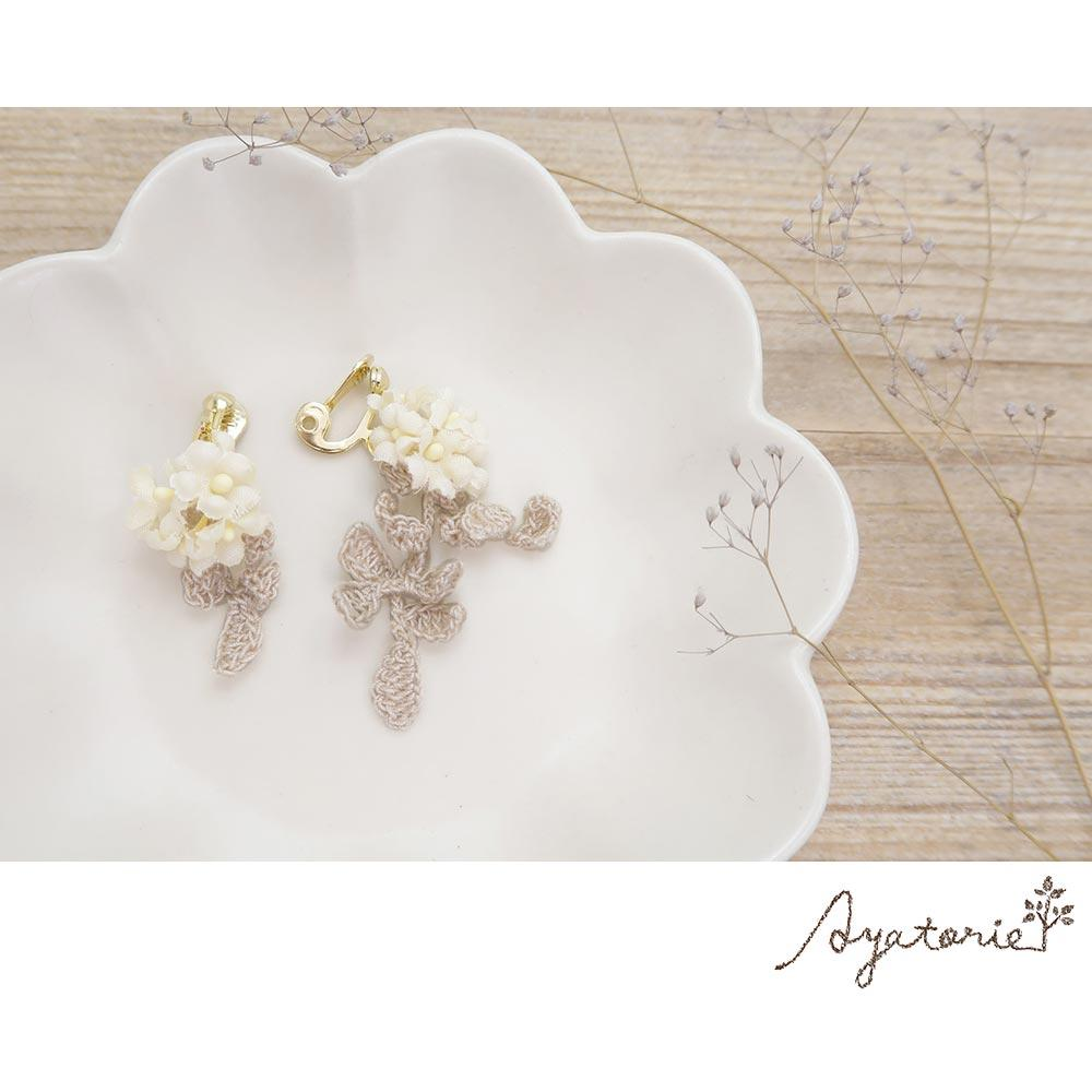 osewaya - Spirea Clip On Earrings - Ayatorie - Earrings