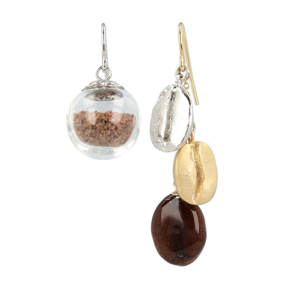 Coffee Canister Earrings - osewaya