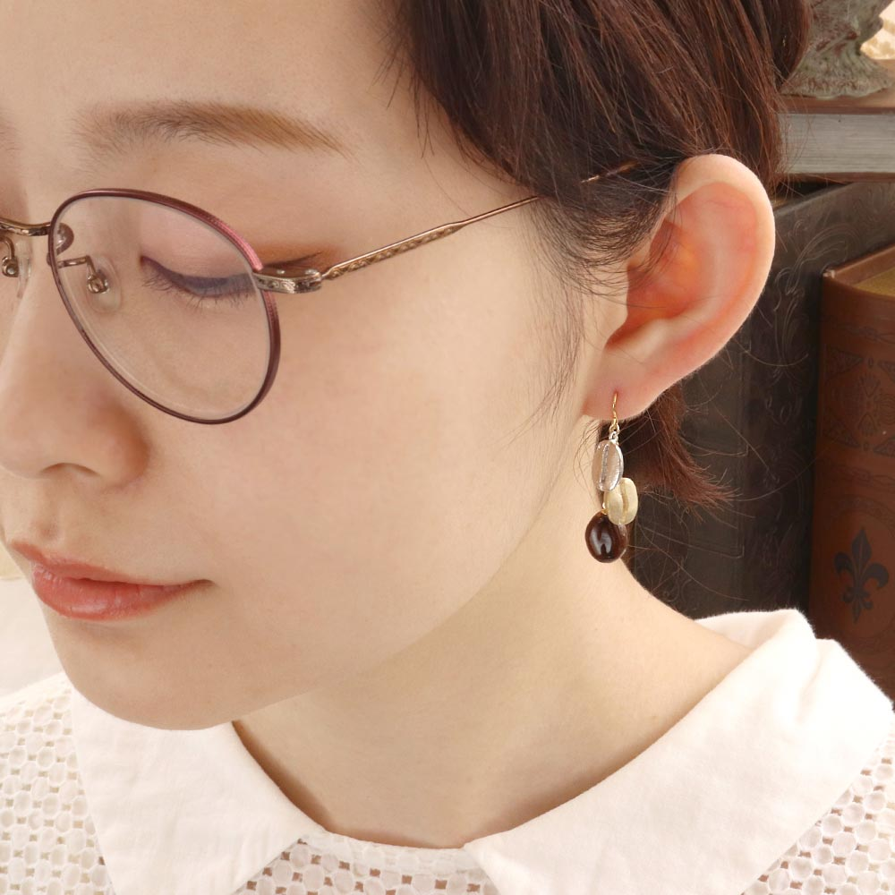 Coffee Canister Earrings