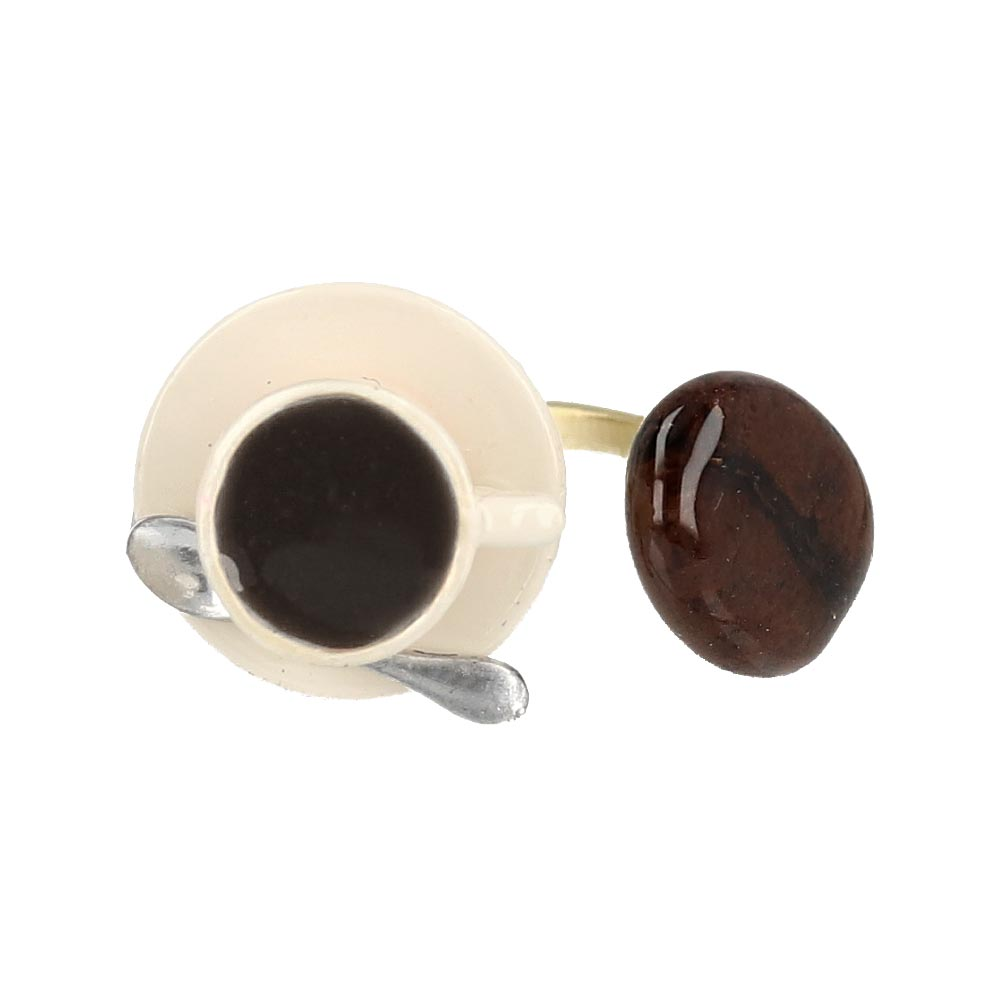 Coffee Time Ring - osewaya