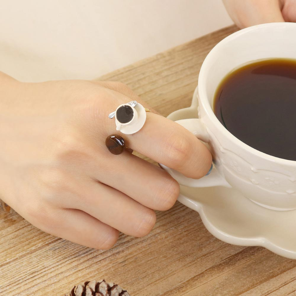 Coffee Time Ring