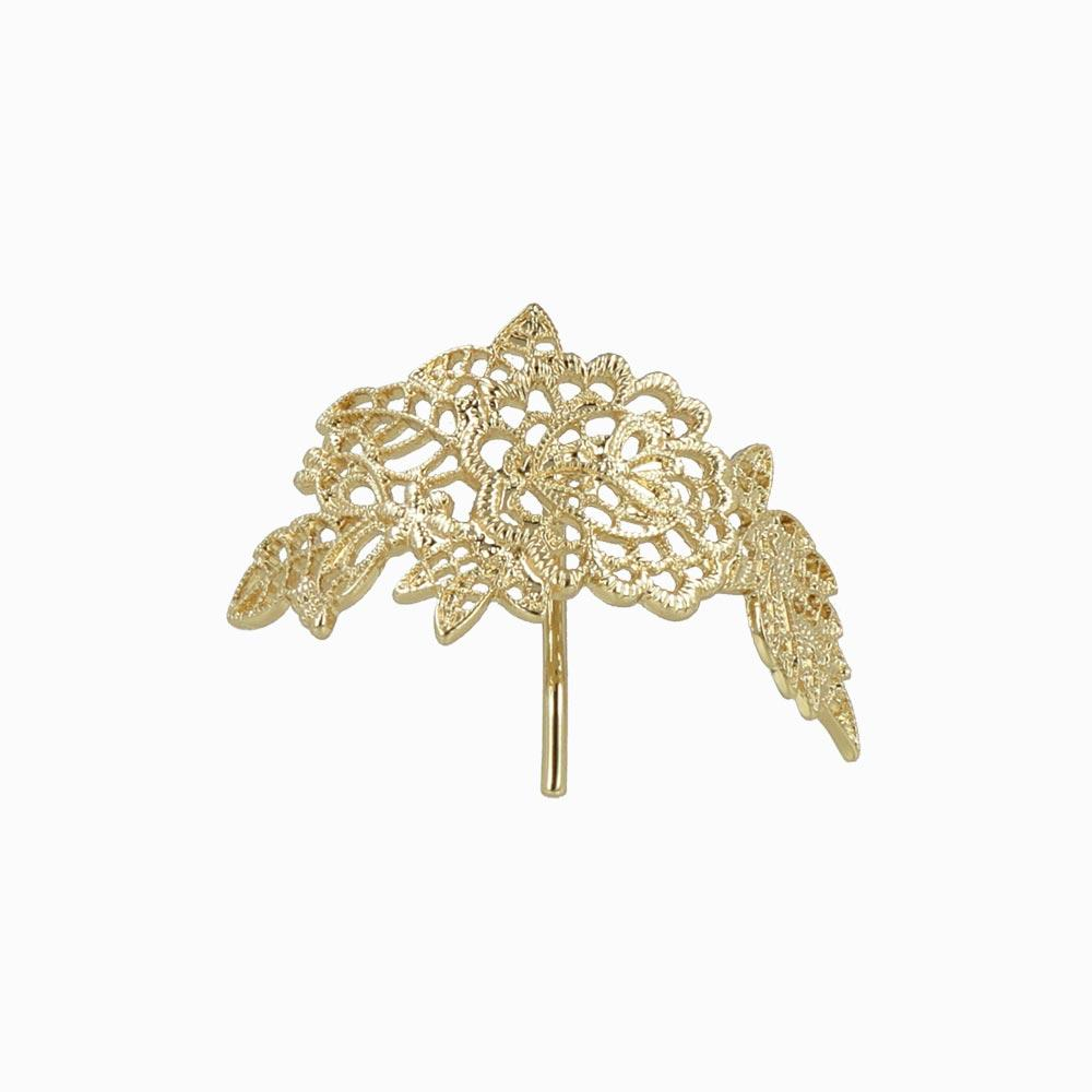 Filigree Flower Hair Hook - osewaya
